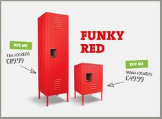 Kids Lockers for Bedrooms just got Funky - the Daily Grind