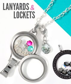 Lanyards & Lockets: Know someone that wears a lanyard (name tag) at work? This could make a great holiday gift.