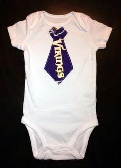 955be2335df Minnesota Vikings Boys Onesie Are you true Vikes Fan  This Vikings gear for  you!