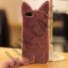 Miau (Lilla) iPhone 5 Deksel