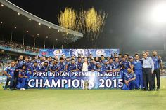 Congratulations Mumbai Indians..! - Shakti Motors Winner of IPL 2015  #AamchiMumbai