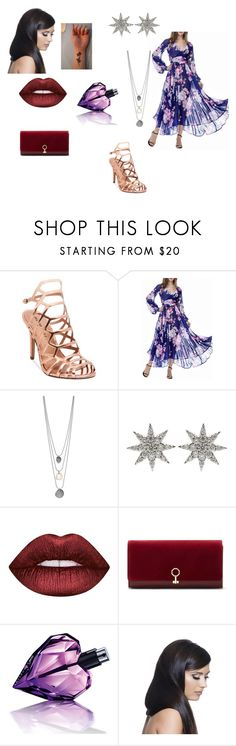 """""""Untitled #598"""" by girlwithnoluck ❤ liked on Polyvore featuring Madden Girl, Bee Goddess, Lime Crime, Louise et Cie, Diesel and Donna Bella Designs"""