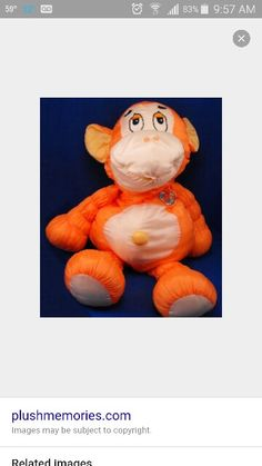 Wish I could find one of these for my son who is now 30.  He loved this monkey!