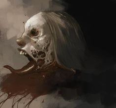 zombie head by ~tonysandoval on deviantART Zombie Head, Zombie Art, Zombie Kunst, Beyond The Lights, Dark Gothic, Zombie Apocalypse, Dark Art, Beautiful Creatures, Illustrators