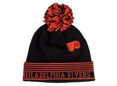 Reebok Philadelphia Flyers Wraparound Cuffed Pom Knit Hat $22