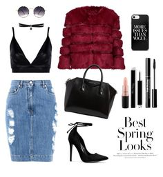 Untitled #10 by biankadovalovska on Polyvore featuring polyvore, fashion, style, Boohoo, AINEA, Moschino, Givenchy, Fallon, Spitfire, MAC Cosmetics, H&M and clothing