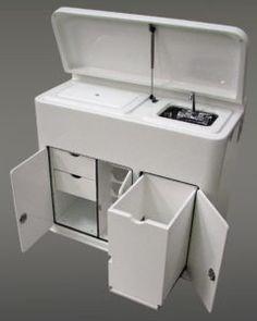 Boat Storage Boxes White