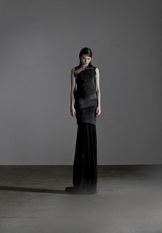 Obscur A/W 2012 collection. Dark Ombre Dress.