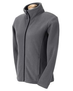 Wintercept Fleece Ladies Full-Zip Jacket Charcoal, Corporate Apparel and Clothing