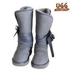 Wrap Tall Ugg Boots.  100% Austrlaian Sheep Skin Boots. Genuine Australian Made Uggs. Absolutely love the color and design.