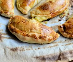 Cheese, Onion and Potato Pasties (low fat made with bread mix) to snack on