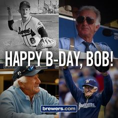 Happy birthday, Bob #Uecker!