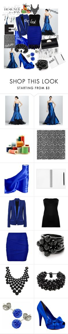 """""""Designer For A Day"""" by quadrillion-and-one ❤ liked on Polyvore featuring Monique Lhuillier, Alberta Ferretti, Christopher Kane, Haider Ackermann, TALLY WEiJL, Folli Follie, Kate Spade, NUR, Swesky and Paris Hilton"""