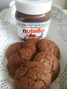 GF Nutella Cookies