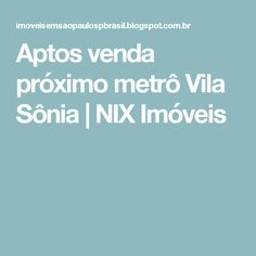 Aptos venda próximo metrô Vila Sônia | NIX Imóveis