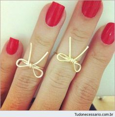 Those would go with my bow wire necklace!