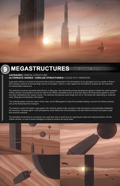 Megastructures 9 Gas Giant Refinery by ArtOfSoulburn.deviantart.com on @DeviantArt