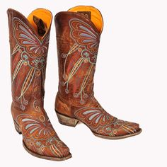 Old Gringo Boots.....what else?!!!!! LOVE