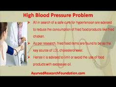 This video describes about herbs useful in controlling and lowering high blood pressure problem. You can find more detail about Stresx capsule at http://www.ayurvedresearchfoundation.com