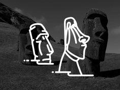 Easter Island !! Moai !!