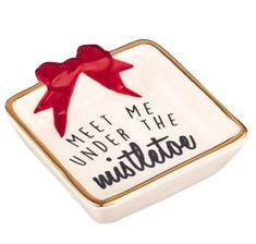 Grasslands Road Mini Christmas Trinket Dishes Great Gift