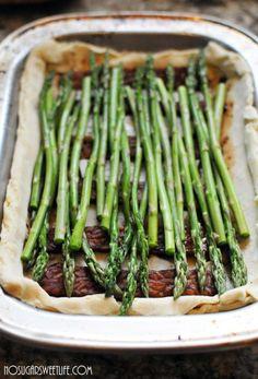 A Savory Recipe: {Asparagus Crostini}   Nosh and Nourish