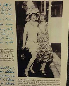 Si ya viste La Chica Danesa seguramente quedaste impactada con la actuación de Eddie Redmayne pero, ¿qué tanto se parece el actor a Einar Wegener y a Lili Elbe? Encontramos estas fotos reales de la verdadera Chica Danesa y de su esposa y amiga Gerda Wegener.