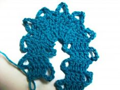 How to crochet Bruges Lace