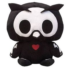 Skelanimals Plush Series 3: Oliver Owl Deluxe 8-Inch Plush