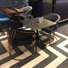 Glass Dining Table, Dining Table Chairs, Blue Velvet Chairs, Ffa, Sofa Chair, Conference Room, Luxury, Armchairs, Furniture
