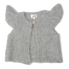 Cardigan Baby Alpaca Bouclé Mae Oeuf NYC Bebè Bambino- Una vasta scelta di Moda su Smallable, il concept store per tutta la famiglia - Più di 600