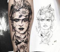 Resultado de imagen para frida kahlo tatuajes