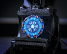 How to Make Iron Man's Glowing Arc Reactor