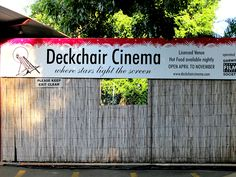 Deckchair Cinema at Darwin