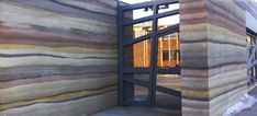 super Ideas for exterior wall construction rammed earth Sustainable Architecture, Contemporary Architecture, Architecture Details, Residential Architecture, Pavilion Architecture, Rammed Earth Homes, Rammed Earth Wall, Exterior House Colors Combinations, Exterior Paint Colors For House