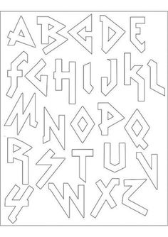 PACK Embroidery Patterns - HEAVY METAL ALPHABET cute heavy metal embroidered alphabet (as if I have time for that!)cute heavy metal embroidered alphabet (as if I have time for that! Graffiti Lettering Fonts, Tattoo Lettering Fonts, Hand Lettering Alphabet, Graffiti Alphabet, Creative Lettering, Lettering Styles, Cute Fonts Alphabet, Typography Drawing, Alphabet Letters