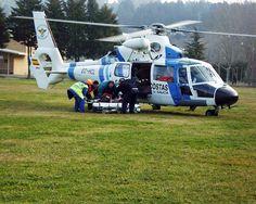 Eurocopter AS-365N2 Dauphin2 (tripulación Pesca1) by EMS Flight Crew, via Flickr