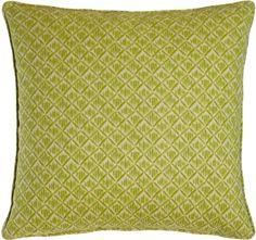 "Lacefield Designs Kimono Honeydew Green Pillow, 20""Sq."