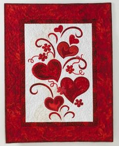 """Keep the Heart Truth Growing"" by Jane Spolar - in our collection of free patterns for hearts and valentines"
