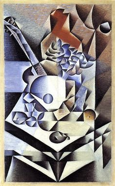 Juan Gris - Still Life with Flowers  I fell in love with Juan Gris' work when studying art many moons ago!!!