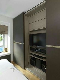 38 Best Contour Design Ideas For Sliding Door Gallery is part of Bedroom wardrobe - Home improvement includes simple yet innovative methods to spice up your home A great idea to change the look of […] Wardrobe Door Designs, Wardrobe Design Bedroom, Wardrobe Doors, Closet Designs, Sliding Wardrobe, Tv In Wardrobe, Bedroom Closet Doors, Tv In Bedroom, Bed Room