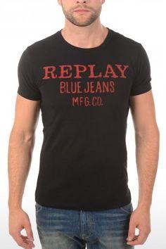 Replay t-shirt M6154 Black M6154 2660 098 Black » JeansandFashion.com