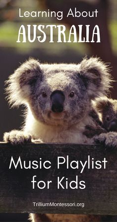 Australia: Music Playlist Here are some of the songs we've been enjoying during our study of Australia. Our favorites** are starred. These are the ones we've listened to almost every day for the past month! The People and Languages of Australasia Waltzing Preschool Songs, Music Activities, Montessori Activities, Language Activities, Kids Songs, Preschool Activities, Montessori Elementary, Australia School, Australia For Kids