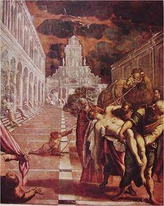 틴토레토, 성 마르코의 시신을 옮기다, 1562~1566, 아카데미아 미술관