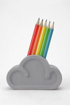 Cloud Pencil Set
