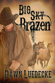 My new cover for my 2013-2014 release, Big Sky Brazen