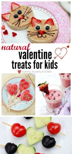 Healthy Valentines Treats for Kids