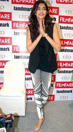 Sonam Kapoor dressing style