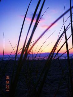 Sunset at Fisherman Island State Park 2012.