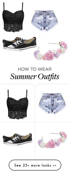 """""""Summer outfit 1"""" by tumblr-and-starbucks on Polyvore"""